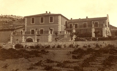 the house around 1900