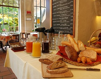 breakfast in the orangery